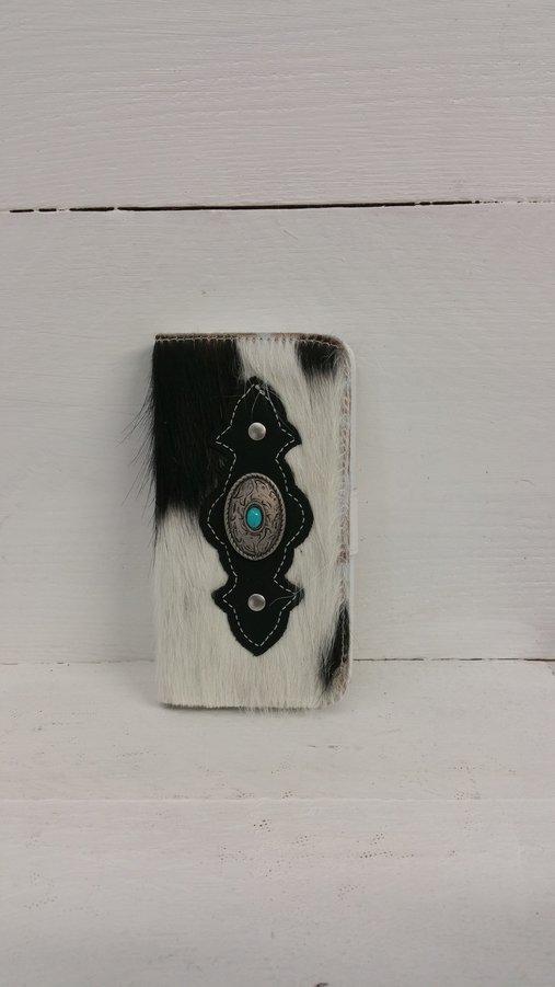 Koeienhuid-telefoonhoesje-flapcase