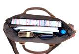 Sterke werk of schooltas uitstekende kwaliteit Van Fiel geschikt tm 16.4 inch laptop_