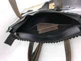 Koeienhuid  zwart/wit medium shopper met lange hengsel_
