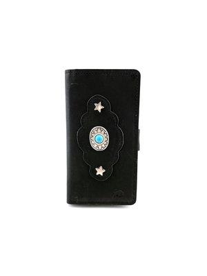 Lederen telefoonhoesje met RFID-SAVE