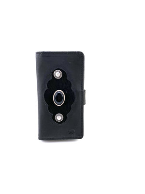 Koeienhuid telefoonhoesje met RFID-SAVE
