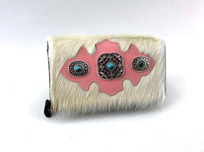 koeienhuid dames portemonnee