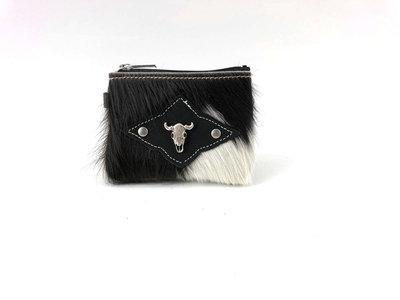 koeienhuid portemonneetje Van Fiel / Lina Leather