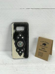 Koeienhuid telefoonhoesje in alleen silicone